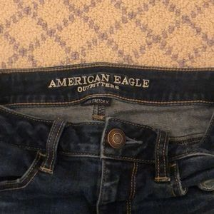 American Eagle Outfitters Jeans - American Eagle, ripped skinny jeans